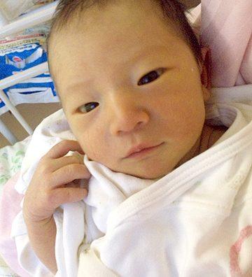 祝!!誕生!感動の出産立会い。