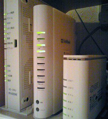SoftBankホームアンテナFTを設置し電波改善。