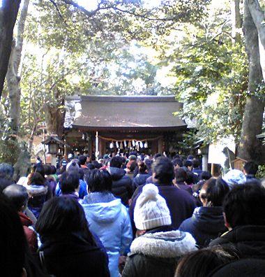 諏訪神社に初詣。そして今年大厄です。