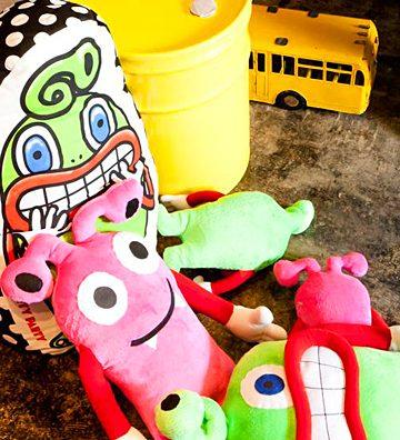 KIDS服ブランド「PARTY PARTY」のキャラクター「グルリとピポパ」が可愛すぎる。