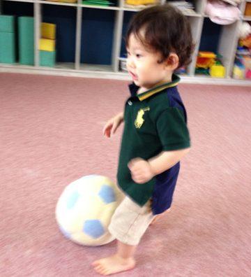 息子がサッカーに目覚め?ました。