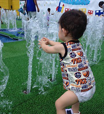 清水公園で真夏のイベント最終章(である事を願う)。