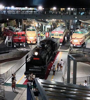 さいたま市の鉄道博物館に行ってきた。