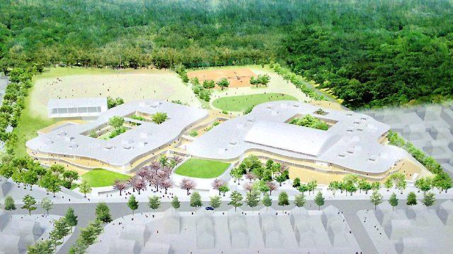 流山おおたかの森 新市街地区小中学校併設校情報。