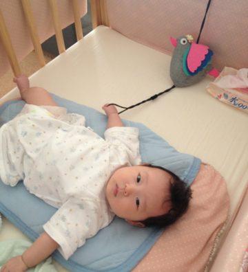 「手足口病」で息子は厳戒態勢、娘は一人遊び。