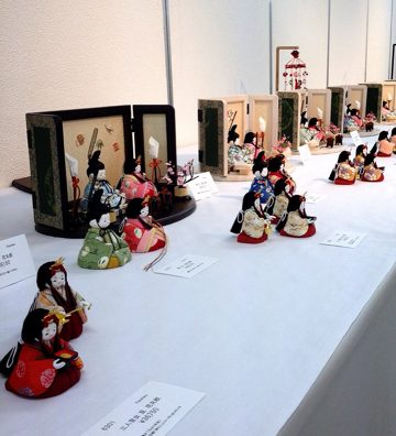娘ちゃんの「ひな人形」の展示会に行ってきました。