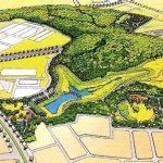 県立市野谷の森公園完成予想図