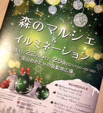 流山おおたかの森クリスマスイルミネーション!