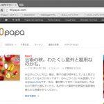 40papaブログ