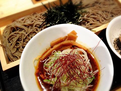 高田馬場:つけ蕎麦安土