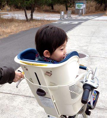 「サイクリング♪サイクリング♪ヤッホー!ヤホー!!」ひたちなか公園でサイクリング。