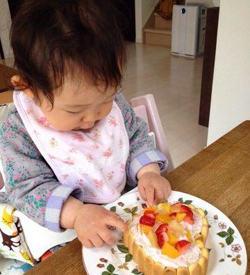 娘ちゃん1歳の誕生日を迎えました。