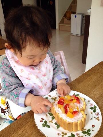 ママ特製バースデイケーキ