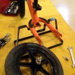 ストライダーカスタム:タイヤ交換