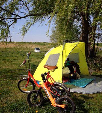 我孫子市の「利根川ゆうゆう公園」でデイキャンプしてきました。
