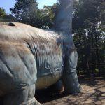 手賀の丘公園恐竜滑り台
