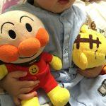 娘の大好きなアンパンマン人形