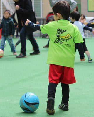 柏レイソル&モラージユ柏コラボ企画「みんなのサッカー広場」に参加してきました。