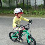 自転車に乗れた~