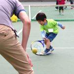 親子テニス体験