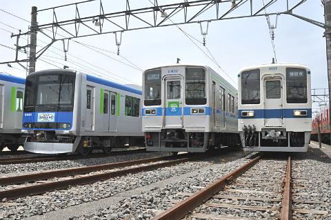 2016年春から「東武アーバンパークライン」に急行運転が登場。