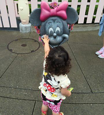 憧れのミッキー・ミニーに会えた!「東京ディズニーランド」行って来た。
