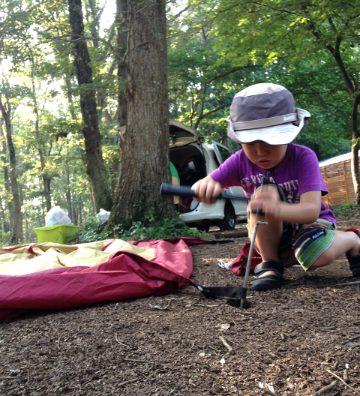 息子も娘も初キャンプ!楽しいハズが・・・。