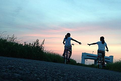 流山駅付近でレンタサイクル始まる。
