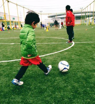 FFCモラージュ柏の「親子サッカー教室」に参加してきました!