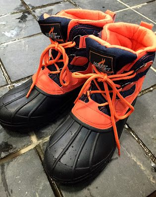 安心して下さい履いてますよ。workmanの防寒ビーンシューズが超絶良い!