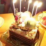 サフランクリスマスケーキ