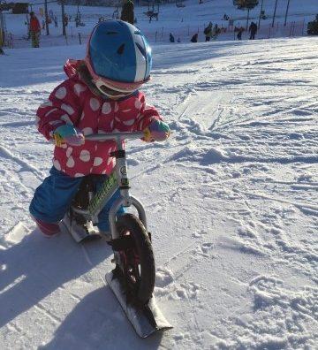 かたしな高原スキー場で「スノーストライダー」してきたよ。