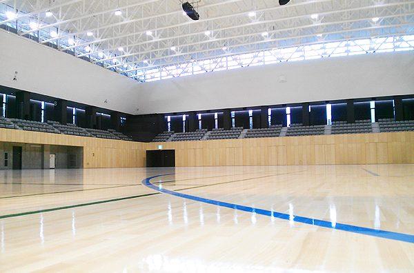 キッコーマンアリーナ(新・流山市民総合体育館)が完成!4月オープン。