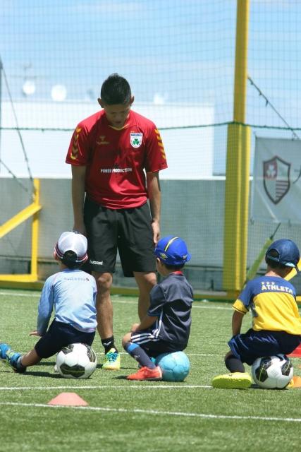 FFCモラージュ柏の「1dayジュニアサッカースクール」に参加してきた。