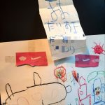 手紙と絵画