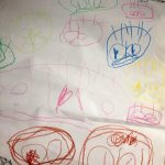 3歳娘の絵