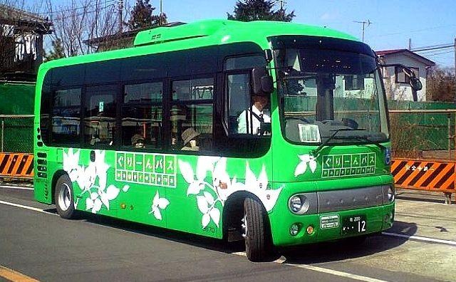 ぐりーんバス新規路線(南流山・木ルート)4月1日より運行開始。