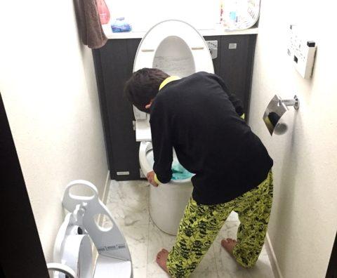 我が家に「トイレの神様」降臨。