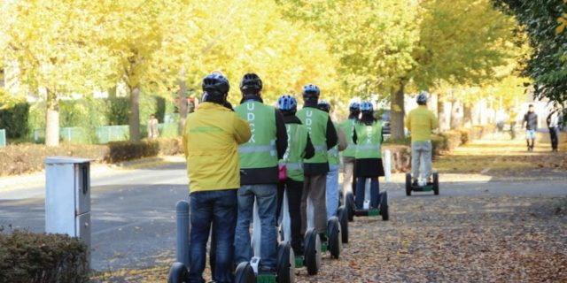 セグウェイに乗って柏の葉探索。「セグウェイキャンパスツアー in 柏の葉」