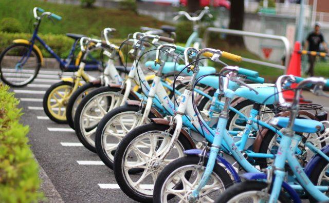 松戸市の「ユーカリ交通公園」で自転車交通ルールを学ぼう。
