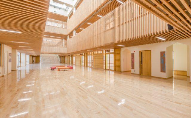 おおたかの森地区新設小学校は木の校舎?