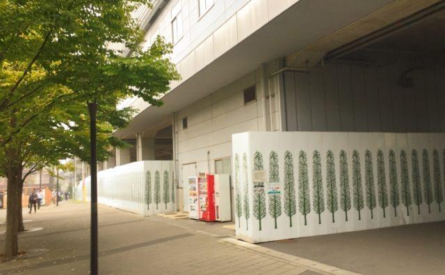 流山おおたかの森駅高架下商業施設開発事業。