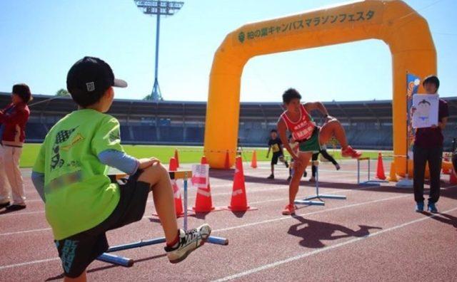運動会対策?「柏の葉キャンパスマラソンフェスタ」に参加。