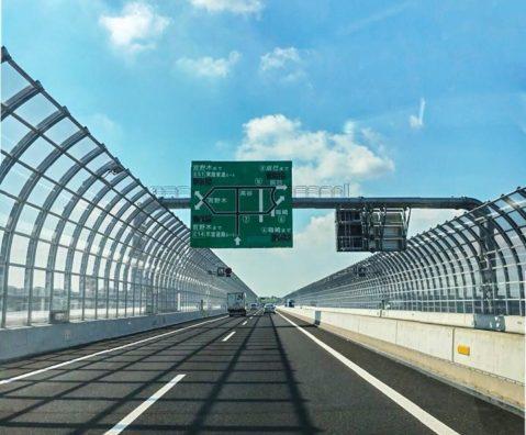 新開通の外環道埼玉~千葉区間はディズニーランドに行くのに超便利でした。