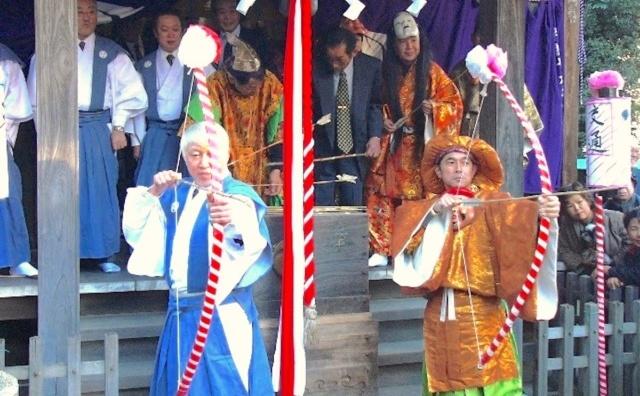 300有余年の伝統。雷神社「鰭ヶ崎おびしゃ行事」。