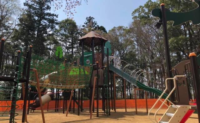 「流山総合運動公園」に大型遊具設置完了!