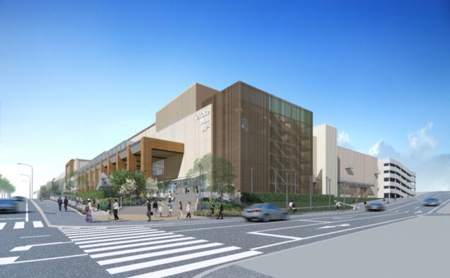 松戸市北部市場跡の大型商業施設が 「テラスモール松戸」に決定。