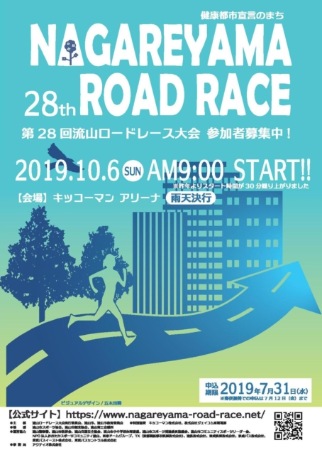第28回流山ロードレース大会