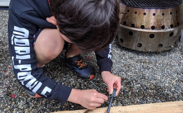 イザという時に役立つ楽しい野遊び術「ブッシュクラフト」を学ぼう!