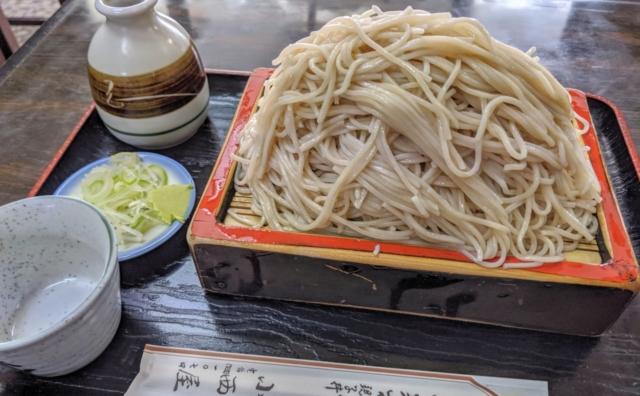 コスパ最強!老舗日本蕎麦「小西屋」。